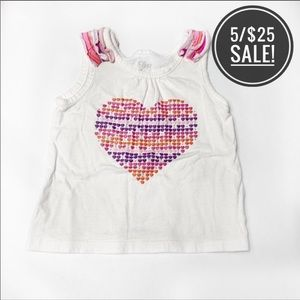 The Children's Place 12-18 Month Love Tank Top